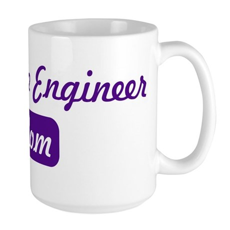 Aerospace Engineer mom Large Mug