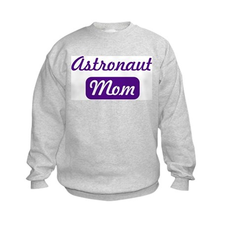 Astronaut mom Kids Sweatshirt