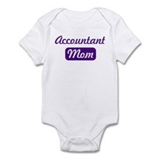 Accountant mom Infant Bodysuit