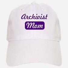 Archivist mom Baseball Baseball Cap