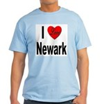 I Love Newark Light T-Shirt
