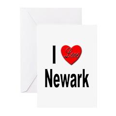 I Love Newark Greeting Cards (Pk of 10)