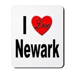I Love Newark Mousepad