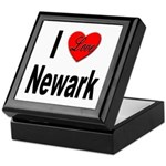 I Love Newark Keepsake Box
