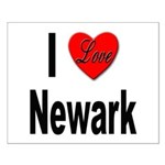 I Love Newark Small Poster