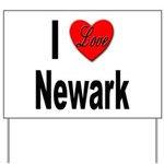 I Love Newark Yard Sign
