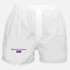 Applications Engineer mom Boxer Shorts