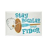 Stay Regular Rectangle Magnet