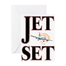 Jet Set 2 Greeting Card