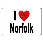 I Love Norfolk Banner