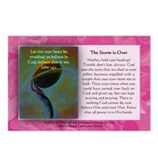 The Storm is Over Postcards w/ msg (Package of 8)