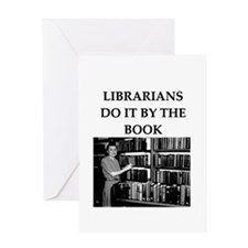librarian gifts and t-shirts Greeting Card