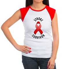 Stroke Survivor Women's Cap Sleeve T-Shirt