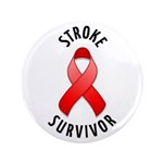 "Stroke Survivor 3.5"" Button (100 pack)"