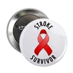 "Stroke Survivor 2.25"" Button (100 pack)"