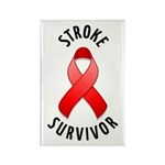 Stroke Survivor Rectangle Magnet (100 pack)