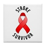 Stroke Survivor Tile Coaster