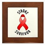 Stroke Survivor Framed Tile