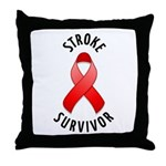 Stroke Survivor Throw Pillow
