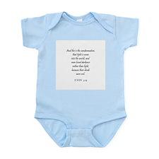 JOHN  3:19 Infant Creeper
