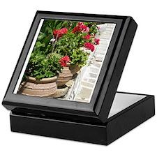Geraniums Keepsake Box