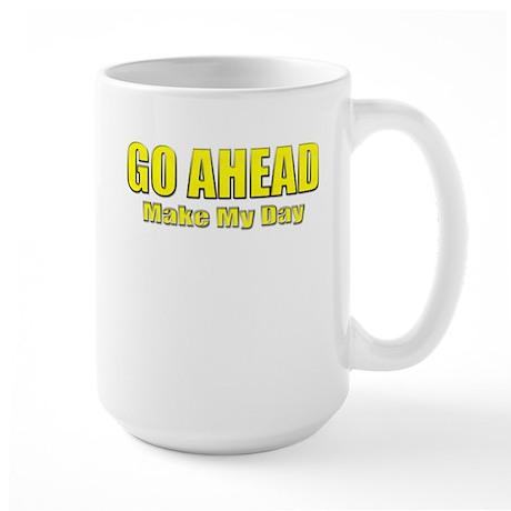 Clint Eastwood Quote Large Mug