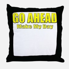 Clint Eastwood Quote Throw Pillow