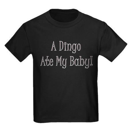 Dingo Ate My Baby Gift Kids Dark T-Shirt
