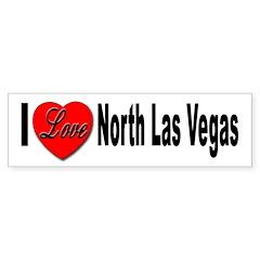 I Love North Las Vegas Bumper Bumper Sticker