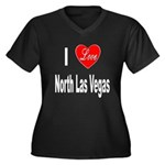 I Love North Las Vegas (Front) Women's Plus Size V
