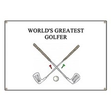 golf humor gifts t-shirts Banner