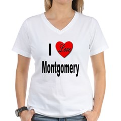 I Love Montgomery Shirt