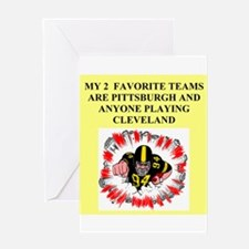 steeler gifts and t-shirts Greeting Card