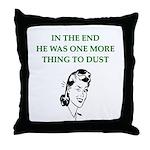 womens divorce joke Throw Pillow