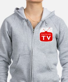 Television; Drug of the Nation Zip Hoodie