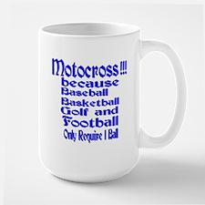 Large Motocross Mug