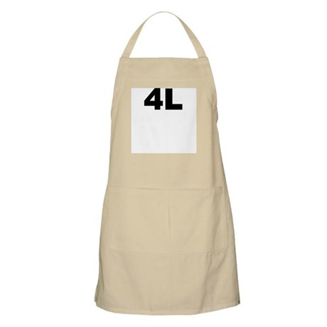 4L BBQ Apron