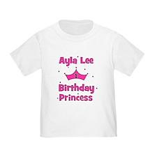 Ayla Lee 1st Birthday Princess T