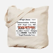Cool Thoroughbred dressage eventing ottb Tote Bag