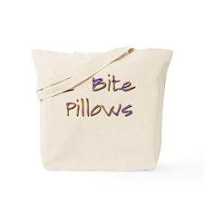 Real Men Bite Pillows Twiligh Tote Bag