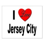 I Love Jersey City Small Poster