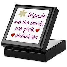 Friends Are Family Keepsake Box