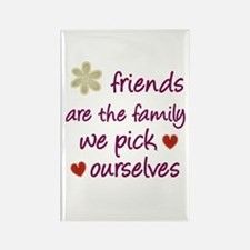 Friends Are Family Rectangle Magnet (10 pack)