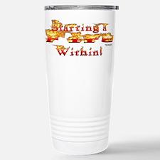 Starting a Fire Travel Mug