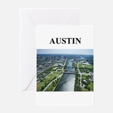 austin gifts and t-shirts! Greeting Card