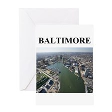 Unique Maryland Greeting Card