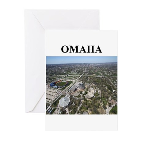 omaha gifts and t-shirts Greeting Cards (Pk of 20)