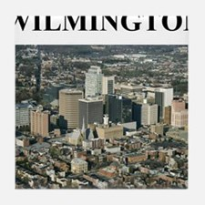 wilmington gifts and t-shirts Tile Coaster