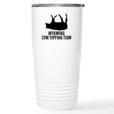 Wyoming Cow Tipping Team Travel Mug