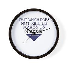 Nietzsche Quote Wall Clock